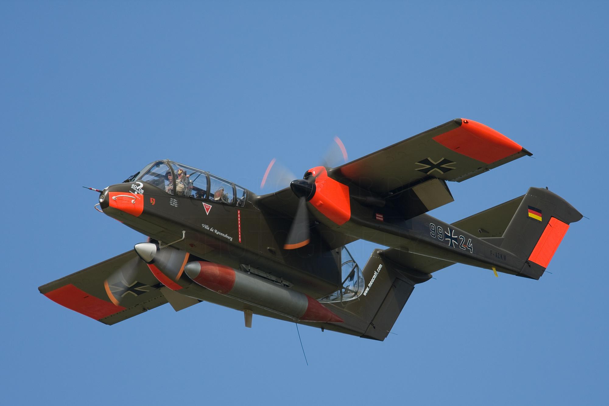 Airspoter.de 2008 Florennes Rockwell OV-10