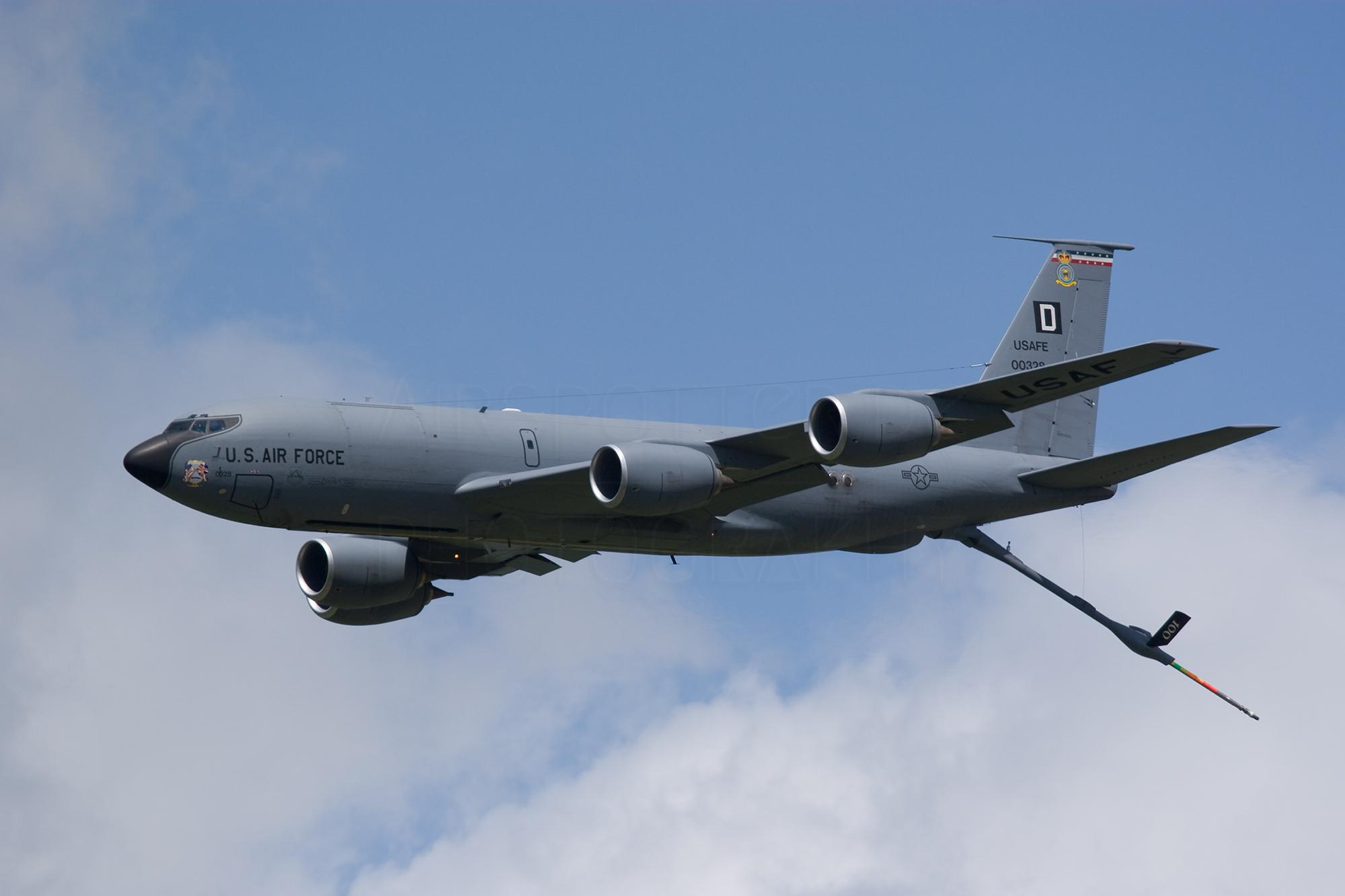 Airspoter.de 2008 Kleine Brogel belgium Boeing KC-135 Stratotanker