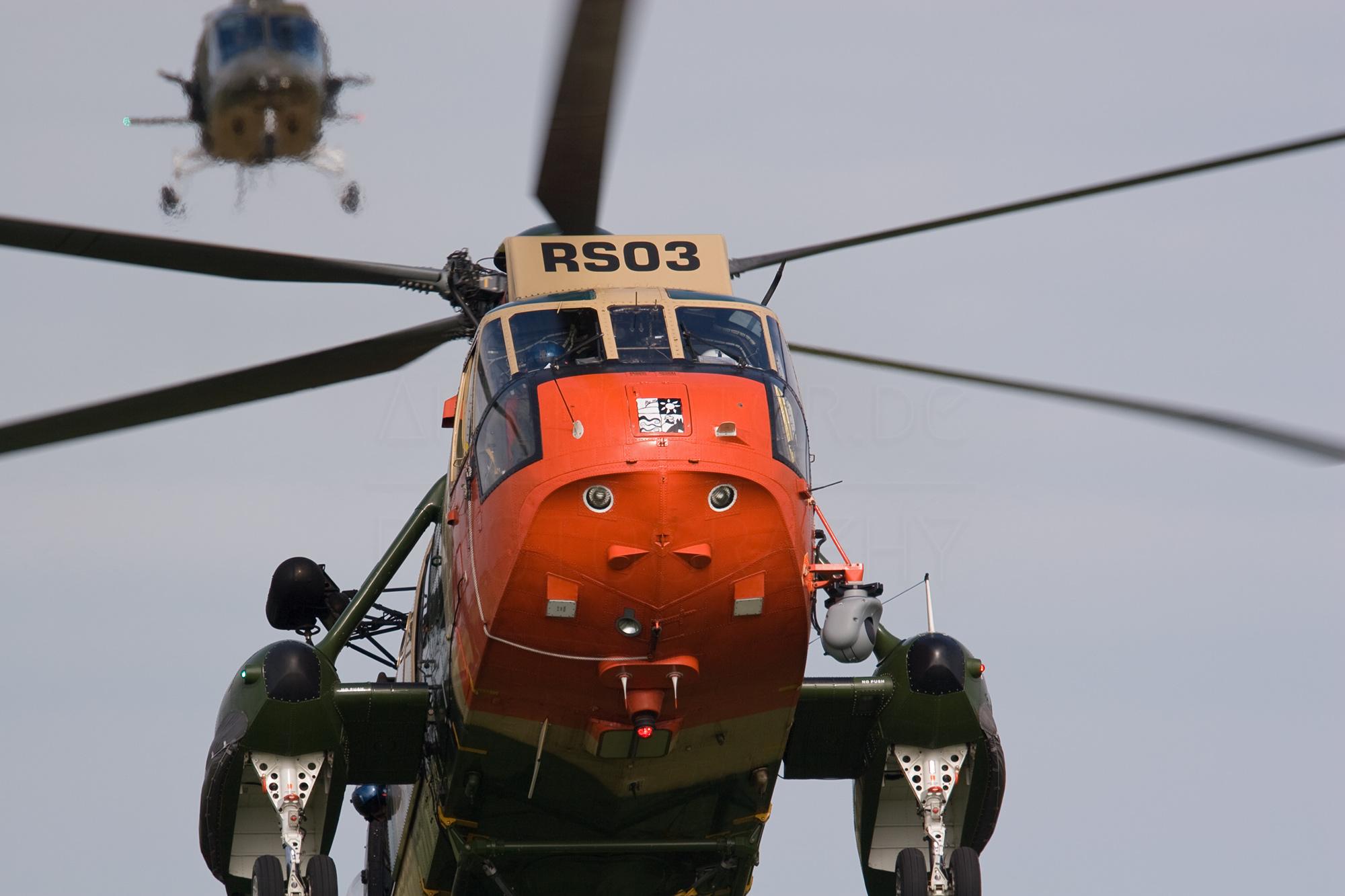 Airspoter.de 2008 Kleine Brogel belgium Luchtmacht H-3 Sea King