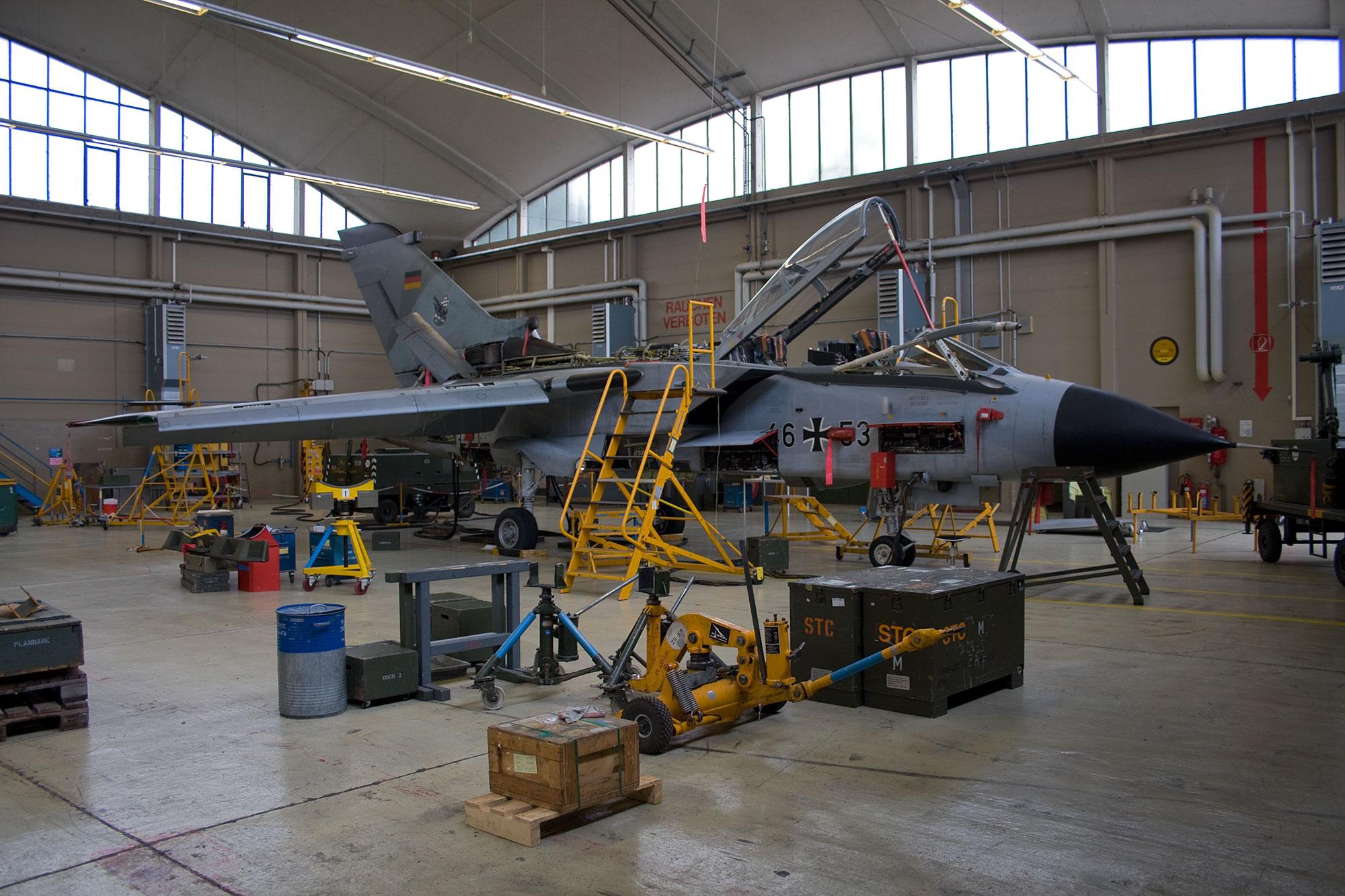 Airspoter.de 2008 Tornado ECR Jagdbombergeschwader 32