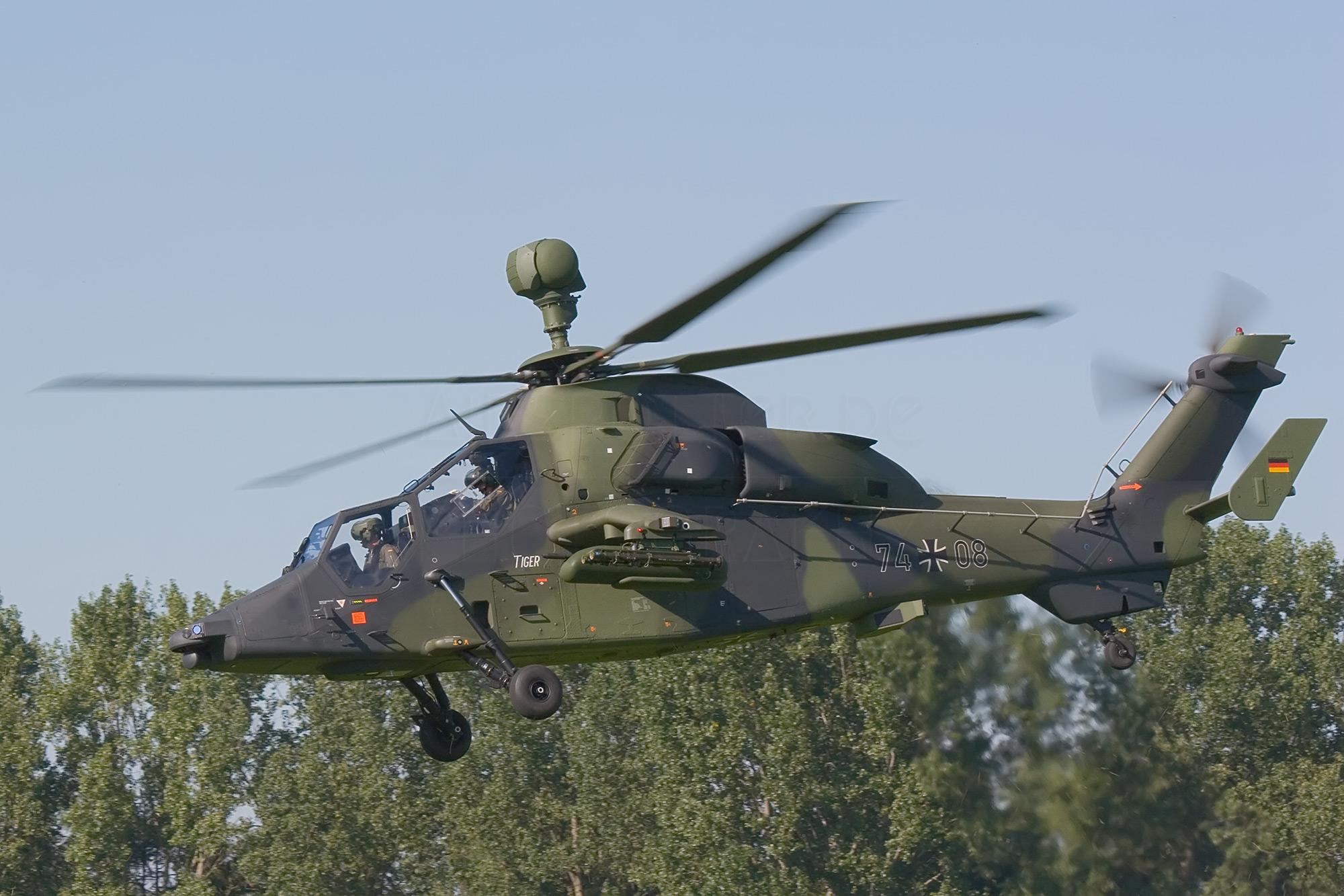 Airspotter.de 2006 Tag der Heeresflieger Eurocopter EC 665 UH Tiger