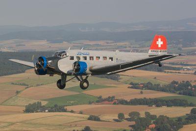Airspotter.de 2007 Ju Days Bückeburg Junkers Ju-52 JuAir
