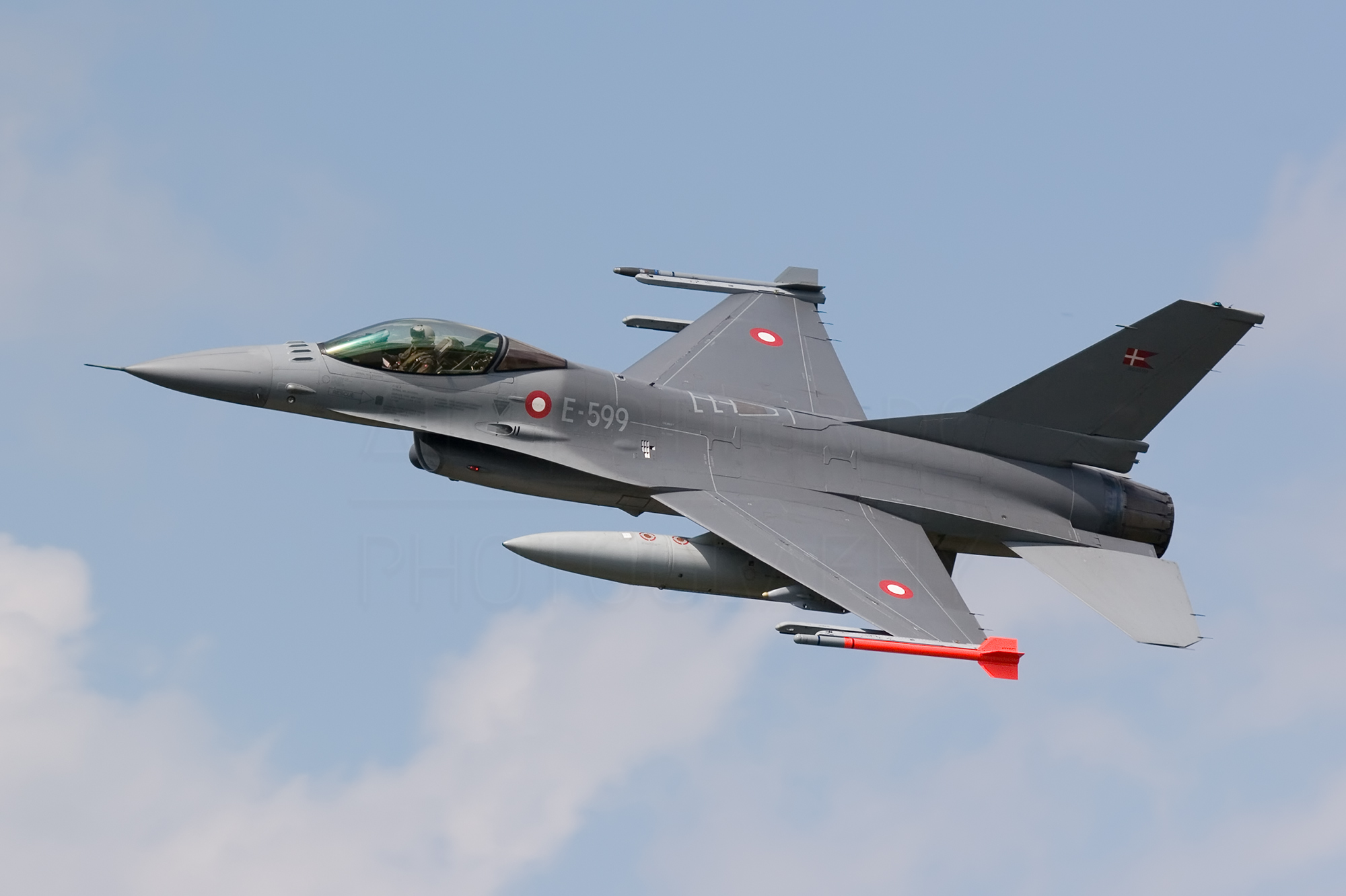 Airspotter.de 2007 Kleine Brogel Danish Air Force F-16BM Fighting-Falcom