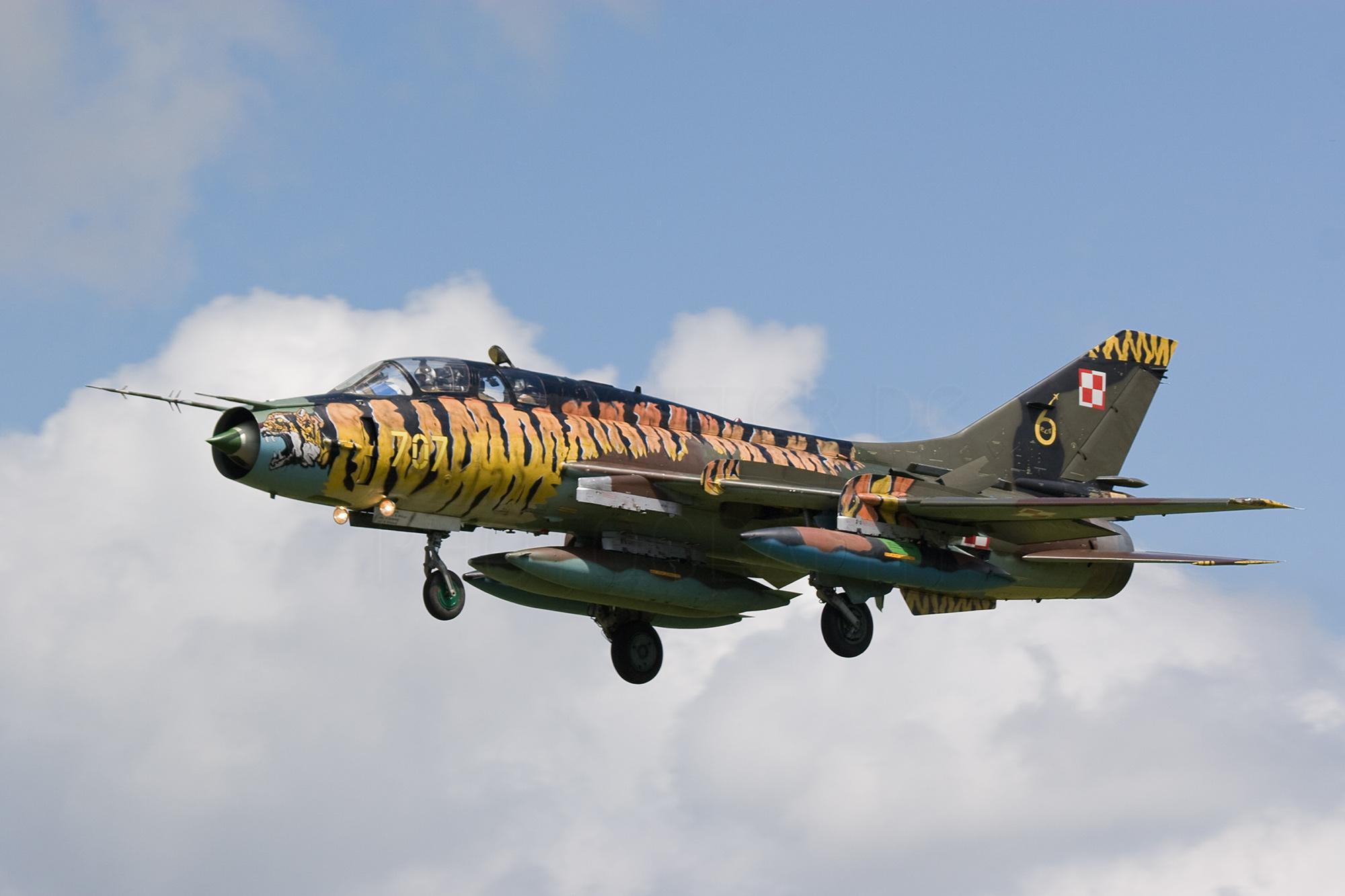Airspotter.de 2008 Elite Polish Air Force Suchoj Su-22 Fitter