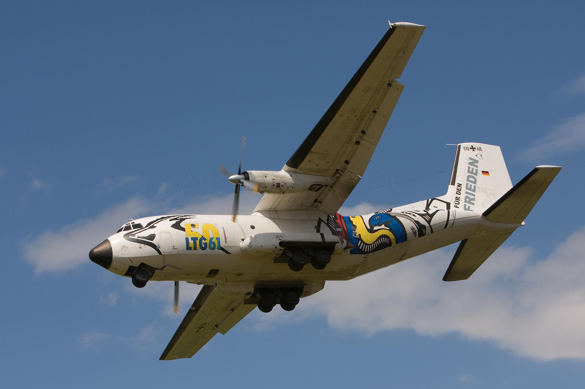 Airspotter.de 2008 Elite Transall C-160 LTG 61