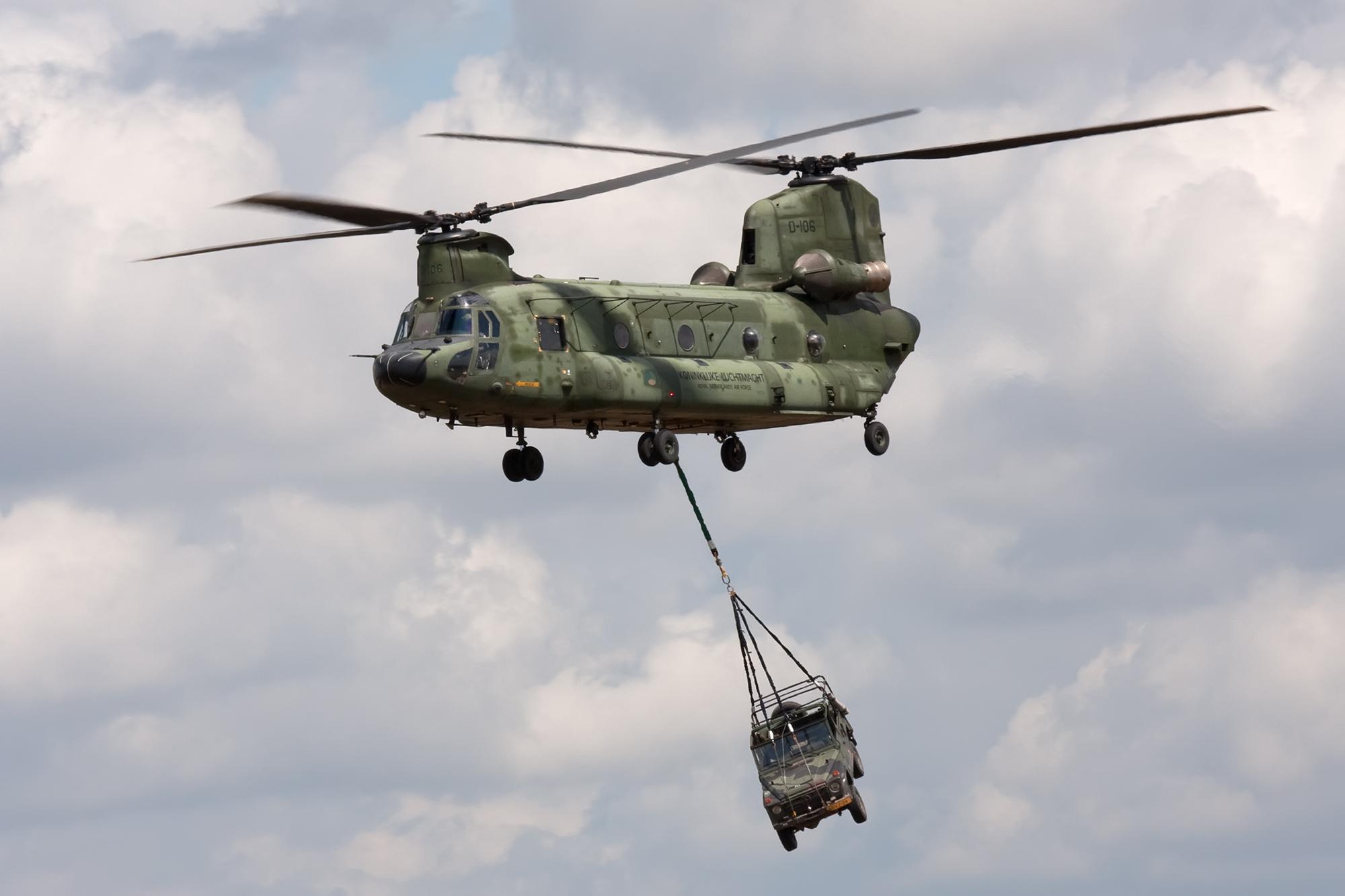 Airspotter.de 2009 Volkel Open Dagen Boeing CH-47 Chinook Royal Netherlands Air Force