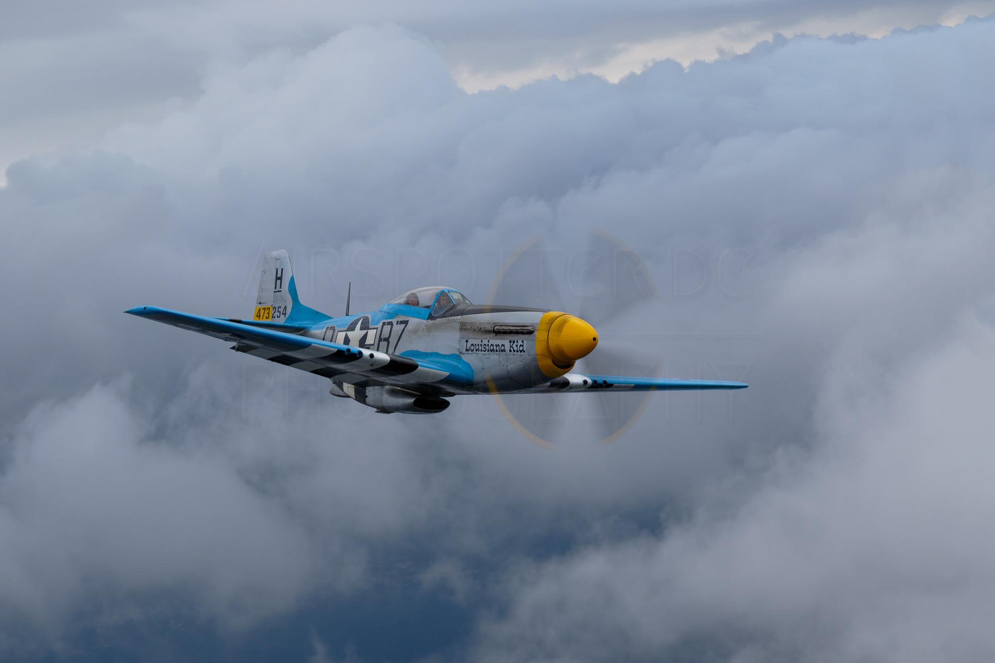 Airspotter.de 2016 P-51D Mustang Louisiana Kid AirtoAir Soest