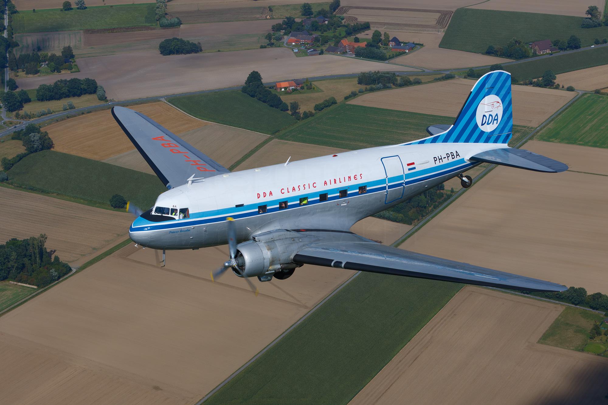 Airspotter.de 2016 DDA Classic Airlines DC-3-Dakota